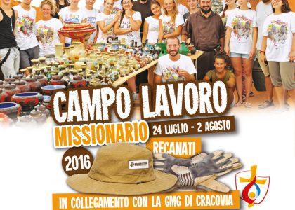 Campo Lavoro Missionario 2016