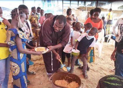 Progetto alimentare per i bambini del Benin